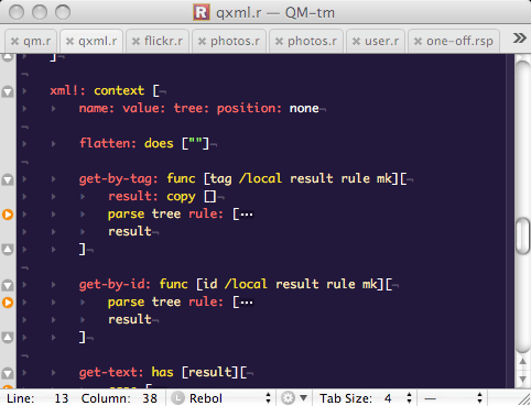 TextMate and REBOL